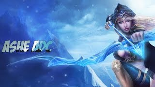 League of legends Ashe ADC
