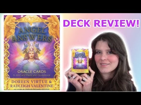 Review Of Angel Answers Oracle Cards By Doreen Virtue And Radleigh Valentine  ✨✨