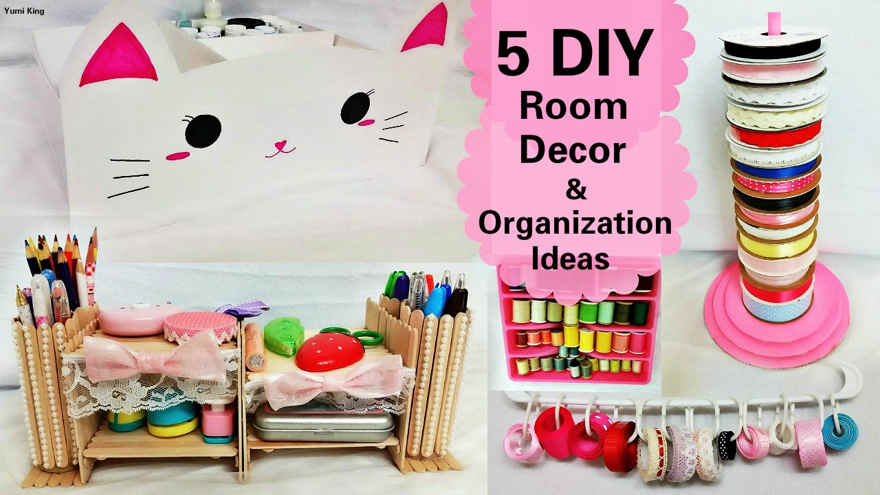 5 DIY Room Decors and Organization IdeasDIY Animal storage box
