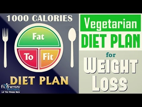 How to lose weight fast in 7 - 10 days | vegan diet chart for weight loss | Fitness Rockers
