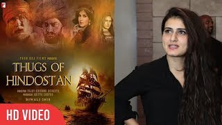 Fatima Sana Shaikh About Her Next Film Thugs of Hindostan | Aamir Khan | Amitabh Bachchan