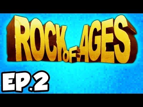Rock of Ages Ep.2 - BOSS BATTLE, BLACK PLAGUE, CHARLEMAGNE, PLATO, ARISTOTLE (Gameplay / Let