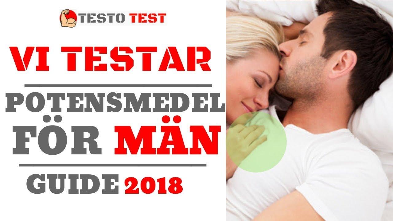 potensmedel för män