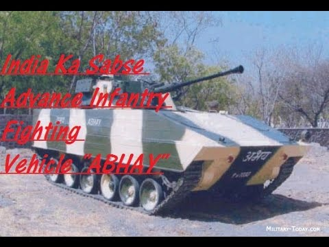 India's Most Advance Infantry Fighting Vehicle ABHAY (Hindi)