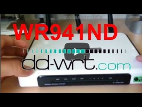 Upgrade DD WRT Firmware TP LINK WR941ND - YouTube