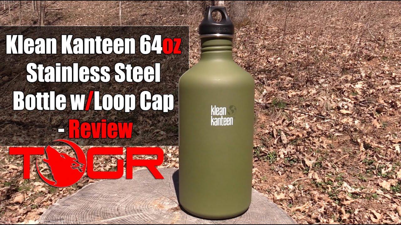 Klean Kanteen Bottle Classic Loop Brushed Stainnless Steel
