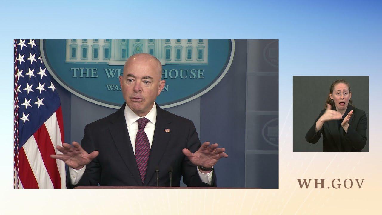 09/24/21: Press Briefing by Press Secretary Jen Psaki and Secretary Mayorkas of Homeland Security