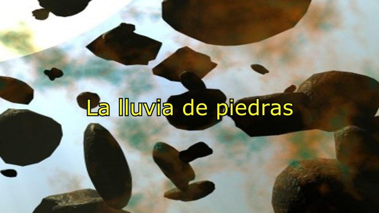 ENCUENTROS: La lluvia de piedras (Leyenda)