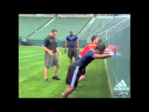 Mario Williams: Wall Push Drill