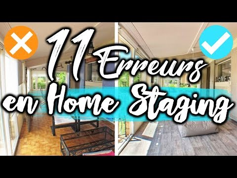 11 ERREURS DÉCO HOME STAGING !