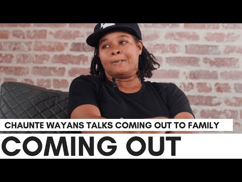 Chaunte Wayans On Coming Out: