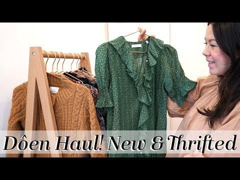 Dôen Haul & Try-on! New & Second Hand items | Kait Bos