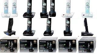Радиотелефоны DECT Panasonic серии KX TG80XX. Видео обзор.