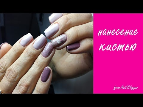 натуральные камни на ногтях