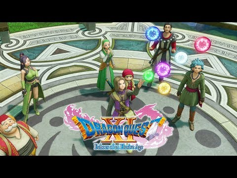 "DRAGON QUEST XI – ""The Loyal Companions� (Character Trailer)"