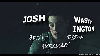 Gambar cover josh washington | best people are crazy {until dawn}