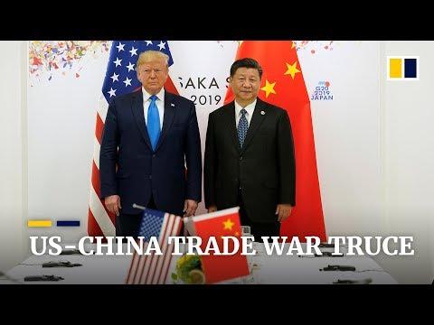 US And China Agree Trade War Truce At G20
