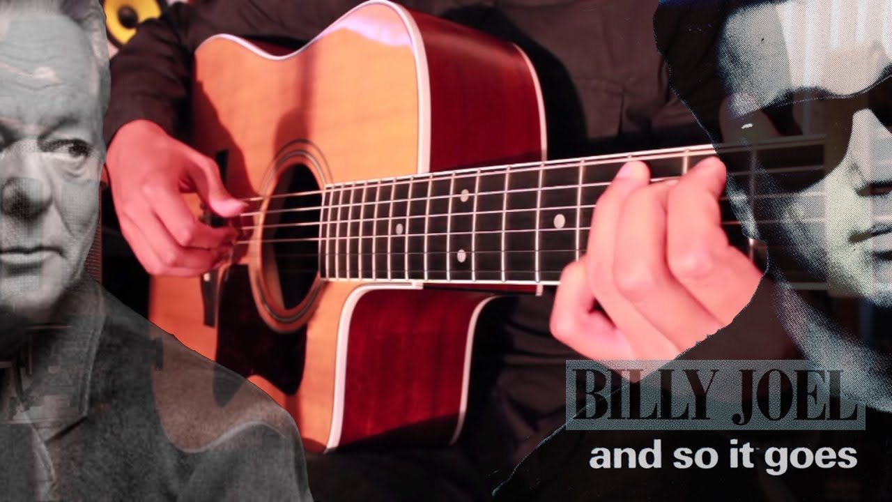 Tommy Emmanuel And So It Goes Billy Joel Acoustic Fingerstyle