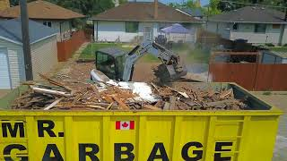 Video still for Bobcat Excavator Tackles Demolition Job from Start to Finish