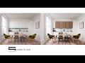 Scandinavian Interior Contrast - Photoshop Architecture