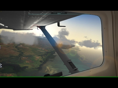Hawaii: C206 Molokai to Lanai X-Plane 10