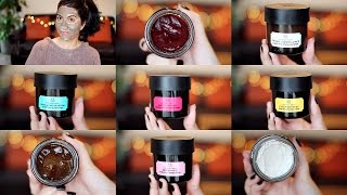 One of Natasha Summer's most viewed videos: The Body Shop SUPERFOOD Face Masks | Application & First Impressions