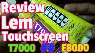 Review Lem Touchscreen T7000 dan E8000