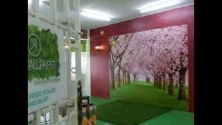Wallpaper cantik dan murah Johor
