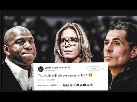 REPORT: Magic Johnson Finds Out Jeanie Buss & Rob Pelinka Dont Like His Work (MAGIC SAW EMAILS)