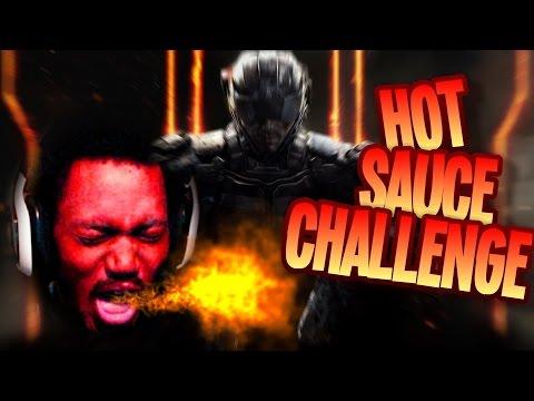 HOT SAUCE CHALLENGE | Call of Duty: Black Ops 3 [Beta]