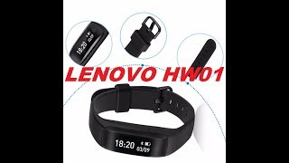 Lenovo HW01 Smart Wristband/HR Monitor/Sports Tracking