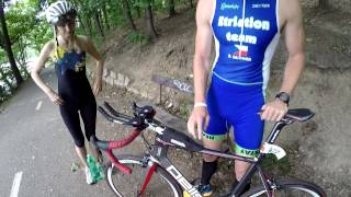 Triatlon Frekvence 1 Mini Triprague - cyklistika