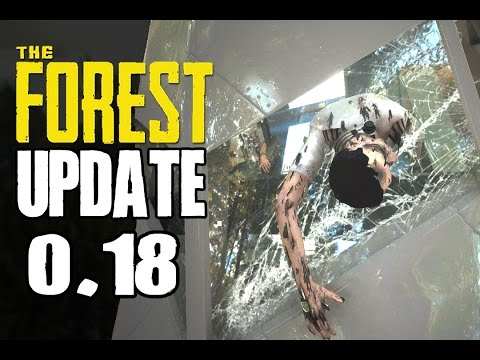 The Forest Update 0.18 - INSIDE THE IRON DOORS | AIRPLANE COCKPIT | NEW ISLAND