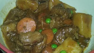 How To Make The Best Homemade BEEF STEW: Easy Hearty Tender Beef Stew Recipe