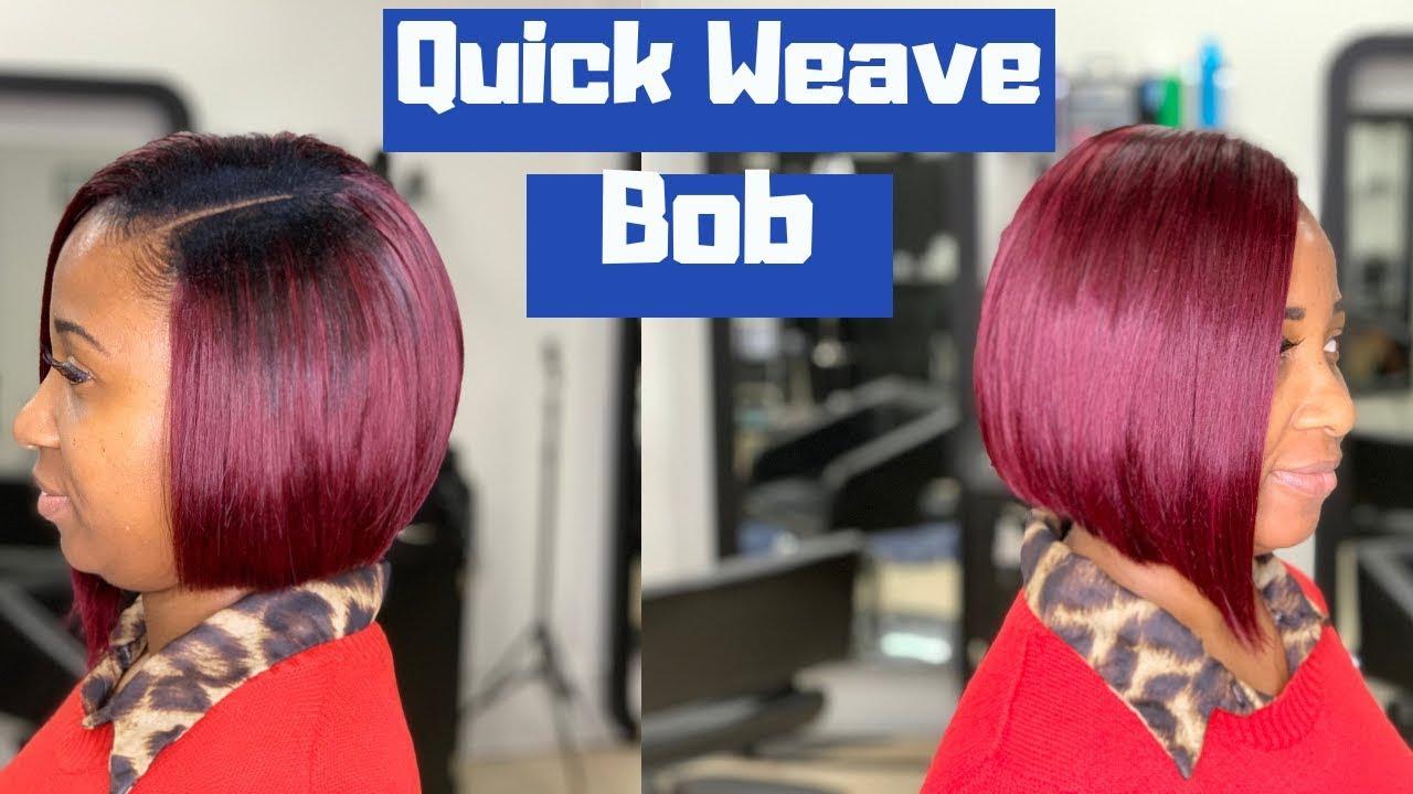 Simple Quick Weave Bob
