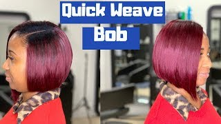 Simple Quick Weave Bob