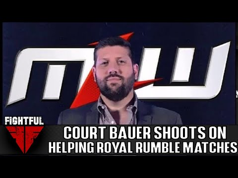 Court Bauer Shoot Interview: Royal Rumbles From Writer's Perspective, MLW, More