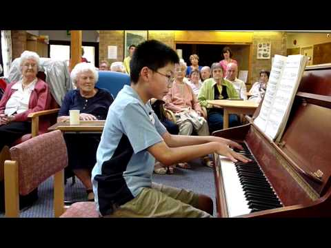 Moonlight Sonata 3rd Movement 10 years old - Michael Ng
