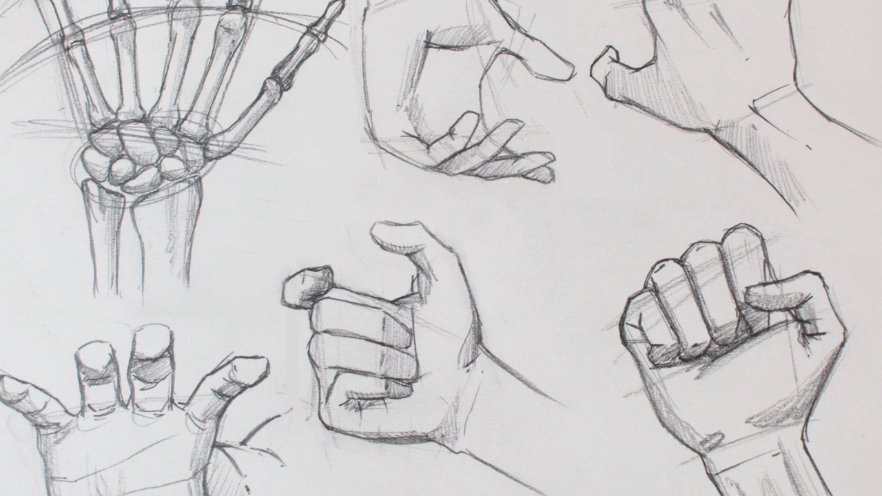 how to draw hands practice youtube
