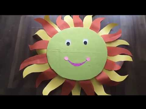 How To Make Sun Costume Kids Special Diy