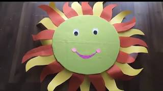 How to make sun costume | kids special | Popular video Sun costume | sun costume diy