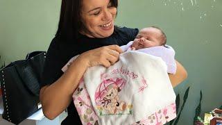 Faça Aplique em Fralda de Bebê na Máquina De Bordar