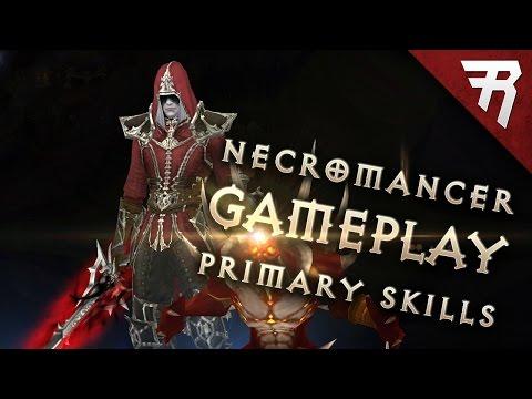 Necromancer skills - Generators (Diablo 3 2.6 beta gameplay)