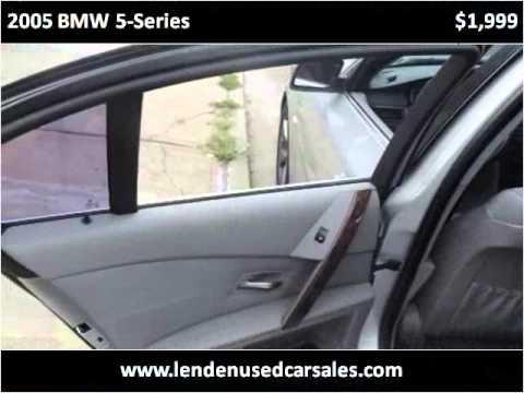 2005 Bmw 5 Series Used Cars Brooklyn Ny Youtube