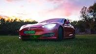 Tesla Model S Long Range: TheVR Tech teszt