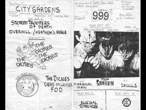 Danzig first show ever City Gardens NJ 1988 AUDIO ONLY Pt. 2
