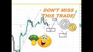 Litecoin & Bitcoin Technical Analysis - HUGE PROFITS COMING!?  Entry Price Targets inside!