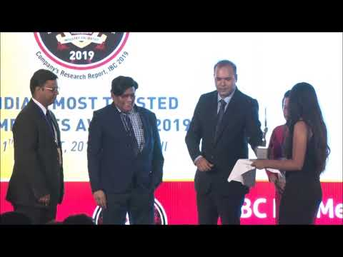 ACTION CONSTRUCTION EQUIPMENT LTD - India' S Most Trusted Companies Awards 2019