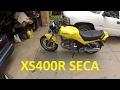 Yamaha XS400R Seca mediocre vlog