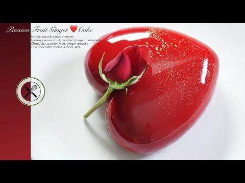 Passion Fruit Ginger ❤️ Cake – Bruno Albouze
